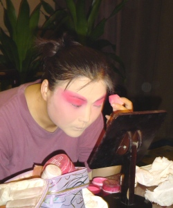 Actress at Li Yuan