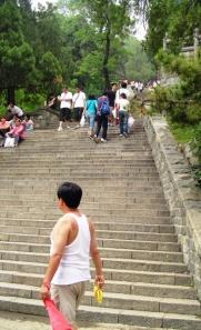 Stairway to Tai Shan